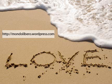Amore, Frasi Amore, Pensieri Amore, Amore sulla Sabbia