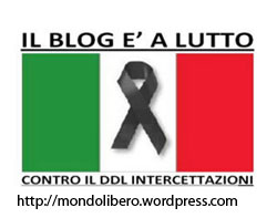 Blog Listato a Lutto