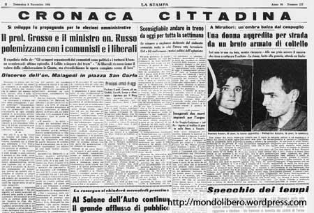 La Stampa 8 Novembre 1964