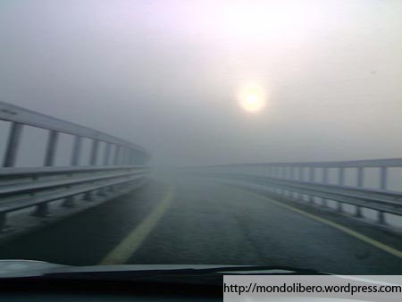 Fog On a Highway